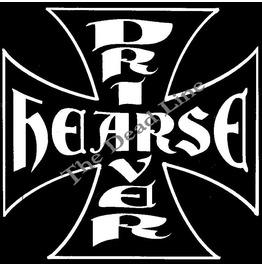 Hearse Driver Cross T Shirt