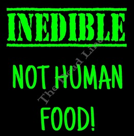 Inedible Human Food T Shirt