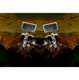 Thors Hammer Cufflinks Sterling Silver