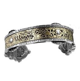 Spectrostatic Nocturnium Steampunk Bracelet Alchemy Gothic
