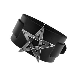 Pentagration Punk Bracelet Alchemy Gothic