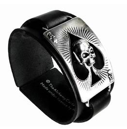 Ace Dead Spades Punk Bracelet Alchemy Gothic