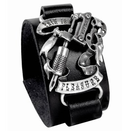 Pain Pleasure Punk Bracelet Alchemy Gothic