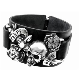 Carpe Diem Punk Bracelet Alchemy Gothic