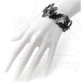 Flocking Ravens Gothic Bracelet Alchemy Gothic