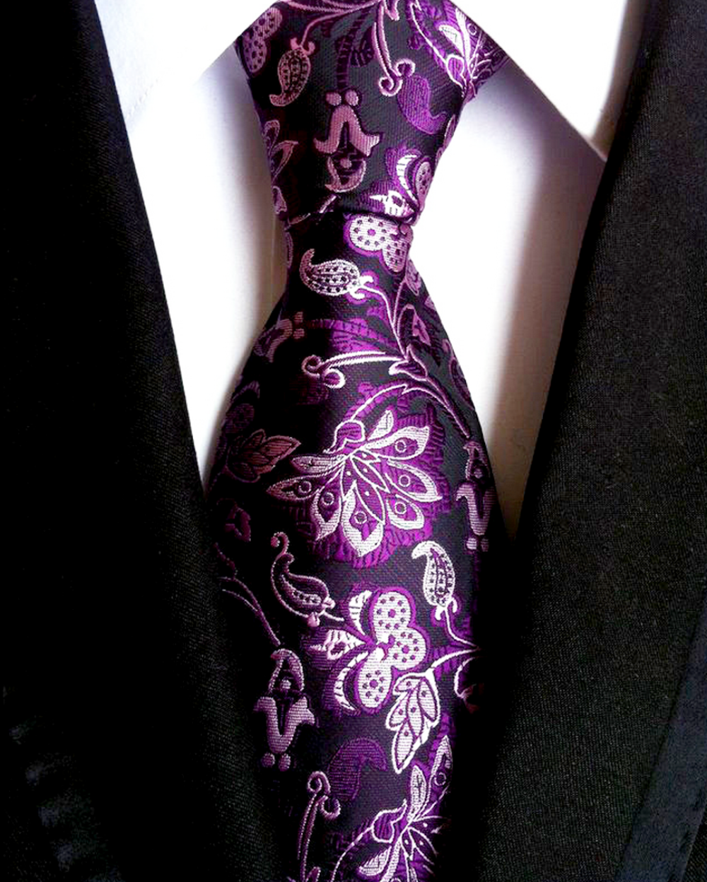 morning_glory_floral_necktie_ties_and_neckwear_3.png