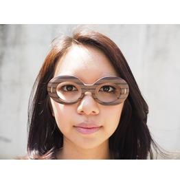 Vintage Eyeglasses Suntimer Victory Optical Wood Grain