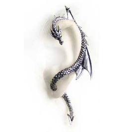 Dragon's Lure Ear Wrap Alchemy Gothic (Left)