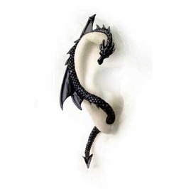 Dragon's Lure Ear Wrap Alchemy Gothic (Black Special Edition)