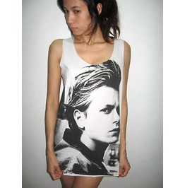 River Phoenix Stand Indie Pop Rock Umisex Tank Top