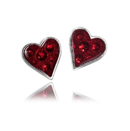 Heart's Blood Studs Gothic Earrings Alchemy Gothic