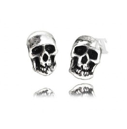 Death Studs Punk Earrings Alchemy Gothic