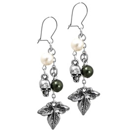 Poison Ivy Gothic Earrings Alchemy Gothic