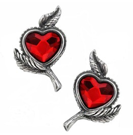 Loves Blossom Gothic Earrings Alchemy Gothic