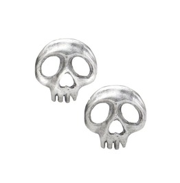 Skully Gothic Earrings Alchemy Gothic