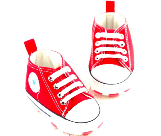 star_canvas_red_converse_design_booties_aged_6_12_months_baby_and_kids_2.jpg