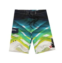 Mens Multi Colors Beach Short