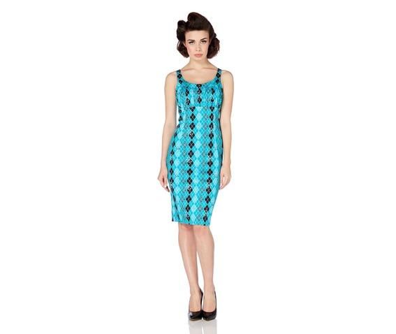 voodoo_vixen_aurelia_geometric_turquoise_argyle_wiggle_dress_dresses_2.jpg