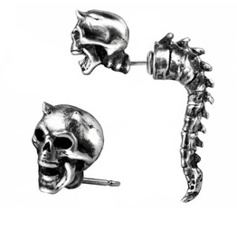 Wraith Spine Faux Ear Stretcher Alchemy Gothic (Single)