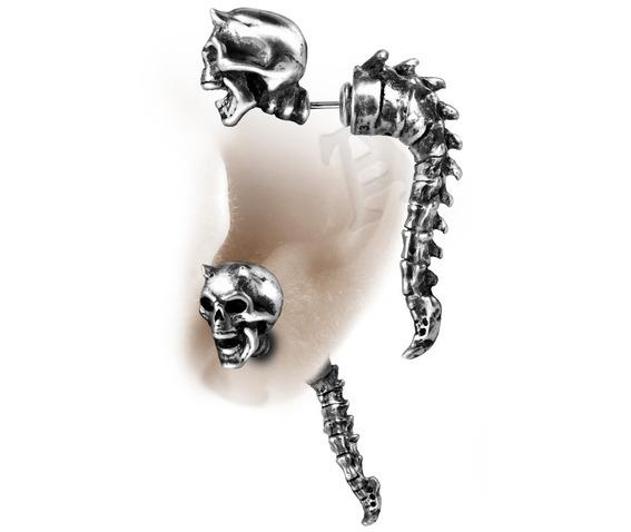 wraith_spine_faux_ear_stretcher_alchemy_gothic_single__earrings_3.jpg