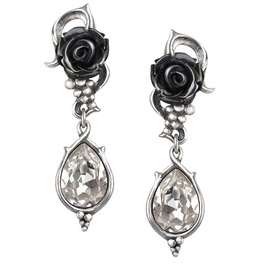 Bacchanal Rose Gothic Earrings Alchemy Gothic