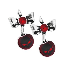 Black Cherry Alternative Earrings Alchemy Gothic