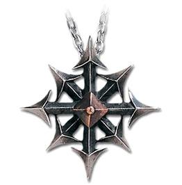 Chaostar Punk Pendant Alchemy Gothic