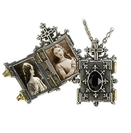 Orthodox Icon Locket Alchemy Gothic