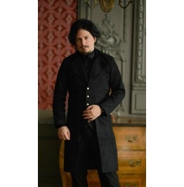 Mens Black Classic Victorian Gentleman's Tailcoat W Cheap Shipping $6