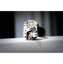Steampunk Bdsm Men's Jewelry Ring Soviet Vintage Birthday Wedding Gift Man