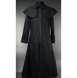 Mens Black Thick Lining Van Helsing Vampire Hunter Coat $9 To Ship