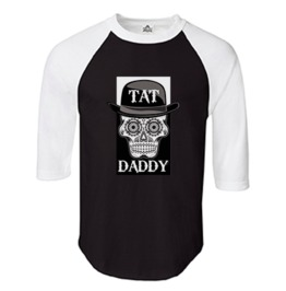 Men's Tat Daddy Logo Baseball Tee