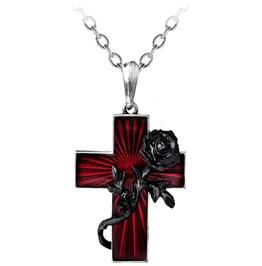 Order Black Rose Gothic Necklace Alchemy Gothic