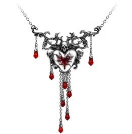 Bleeding Heart Gothic Pendant Alchemy Gothic
