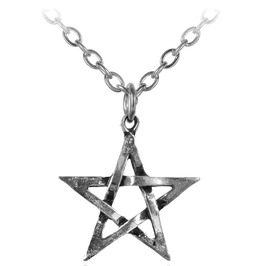 Pentagram Necklace Alchemy Gothic
