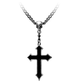 Osbourne's Cross Heavy Metal Necklace Alchemy Gothic