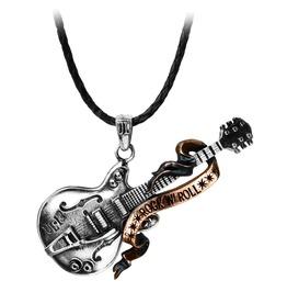 Steel Guitar Rock 'n' Roll Heavy Metal Pendant Alchemy Gothic