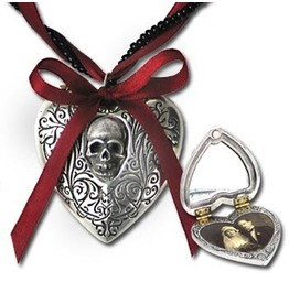 Reliquary Heart Gothic Locket Alchemy Gothic