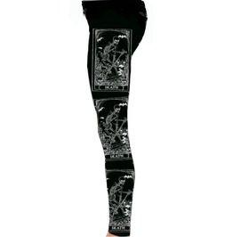 Death Card Tarot Leggings