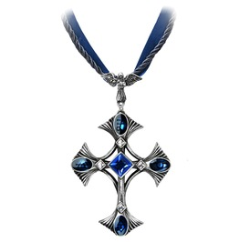 Elementary Crux Angelicus Gothic Pendant Alchemy Gothic