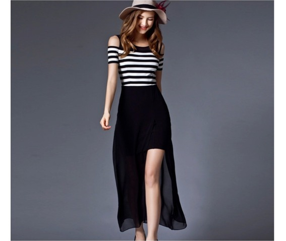 shoulder_patch_chiffon_stripe_dress_dresses_8.PNG