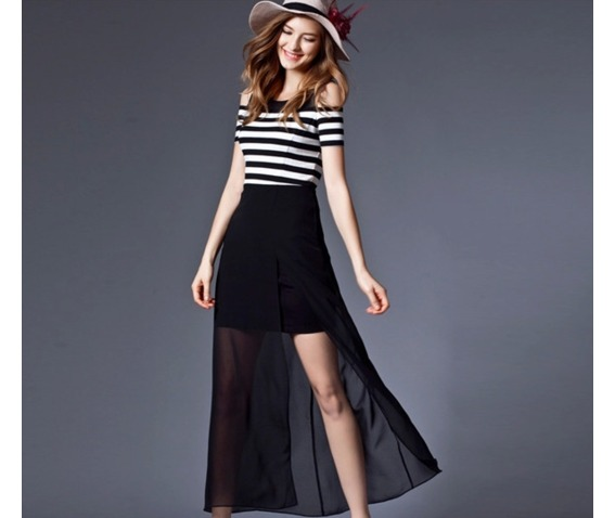 shoulder_patch_chiffon_stripe_dress_dresses_7.PNG