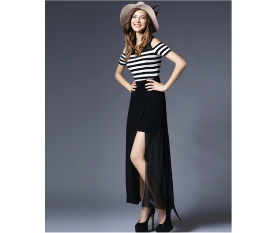 shoulder_patch_chiffon_stripe_dress_dresses_5.PNG