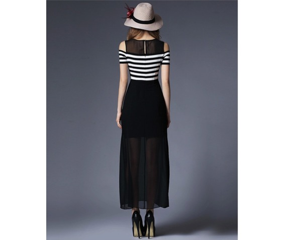 shoulder_patch_chiffon_stripe_dress_dresses_4.PNG