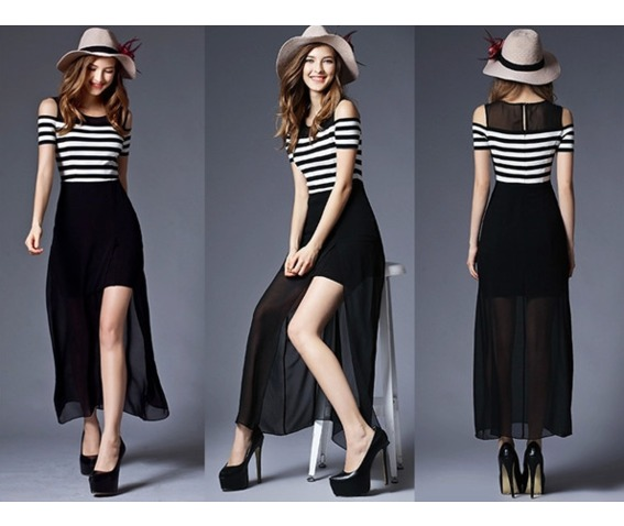 shoulder_patch_chiffon_stripe_dress_dresses_3.PNG