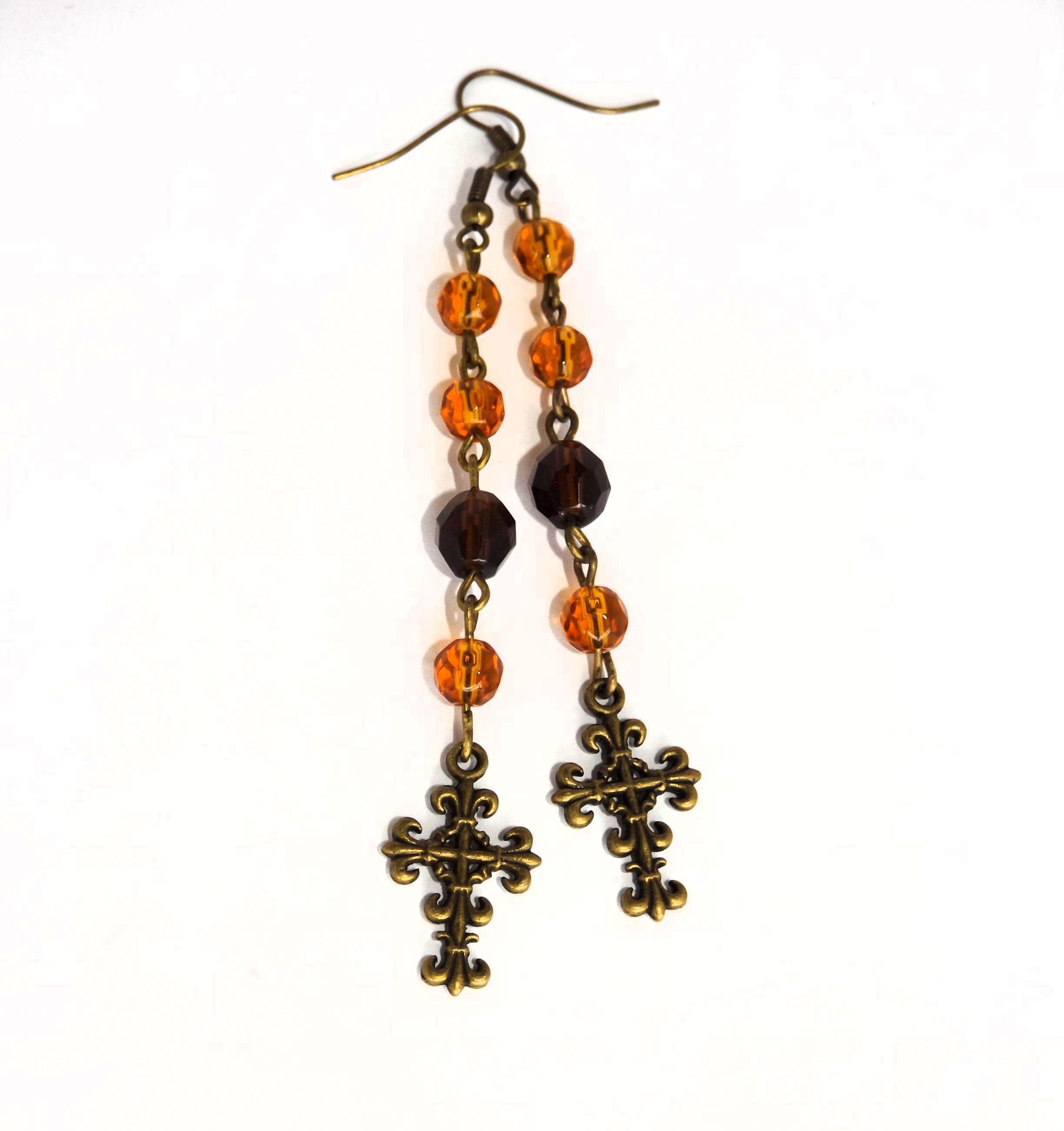 handmade_gothic_brown_rosary_earrings_earrings_2.jpg