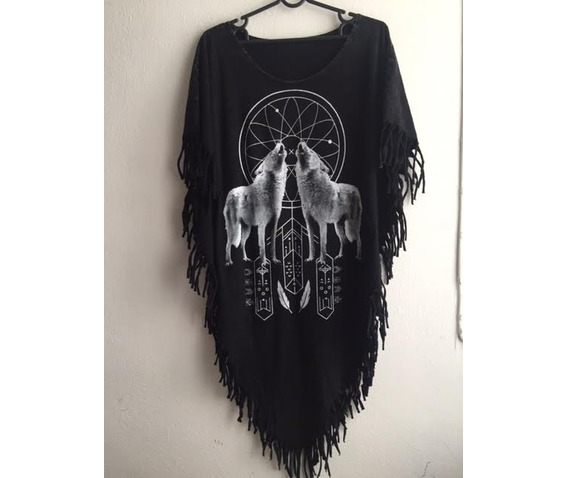 animal_punk_hippie_batwing_tussle_fringes_stone_wash_poncho_dresses_2.jpg