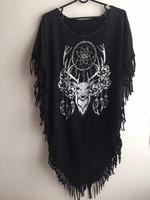 deer_animal_fantasy_punk_hippie_batwing_tussle_fringes_stone_wash_poncho_dresses_4.jpg