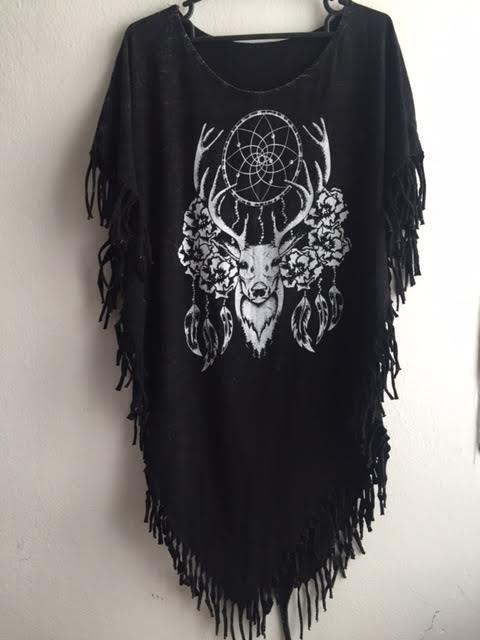 deer_animal_fantasy_punk_hippie_batwing_tussle_fringes_stone_wash_poncho_dresses_2.jpg