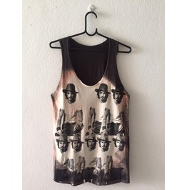 Johnny Depp Movie Star Pop Rock Vest Tank Top